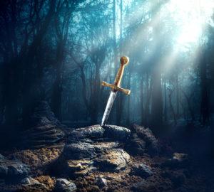 spada nella roccia in italia